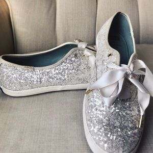 Kate Spade Limited Edition Tiffany and Gold Keds